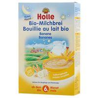 Kaszki i kleiki, HOLLE 250g Kaszka mleczno-bananowa BIO dla niemowląt od 6 miesiąca życia