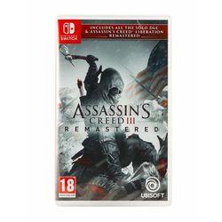 Assassin's Creed III Remastered PL/ENG (SWITCH) // WYSYŁKA 24h // DOSTAWA TAKŻE W WEEKEND! // TEL. 696 299 850