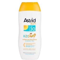 Astrid face and body lotion sun kids spf30 preparat do opalania ciała dla dzieci 200ml