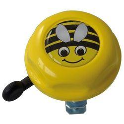 Dzwonek rowerowy dziecięcy pszczółka Doming Label żółty