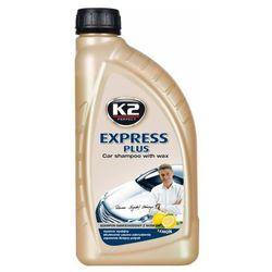 K2 Express PLUS Szampon samochodowy z woskiem 1l