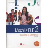 Książki do nauki języka, Mochila 2 Ćwiczenia + Cd Audio + Portfolio (opr. miękka)