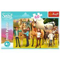 Puzzle, Puzzle 60 elementów - Smak przyjaźni, Spirit Riding Free