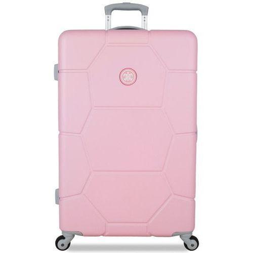 Torby i walizki, SuitSuit Walizka TR-1225/3-L, jasnoróżowa