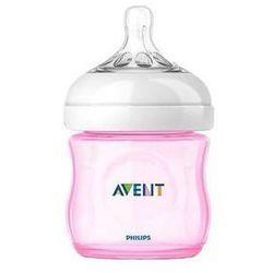 Butelka dla niemowląt Philips AVENT 125ml Natural PP Różowa