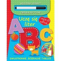Książki dla dzieci, Uczę się liter A B C (opr. miękka)