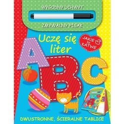 Uczę się liter A B C (opr. twarda)