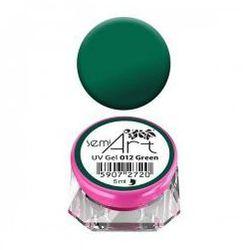 Semilac Semi-Art, żel do zdobień, 012 Green, 5ml