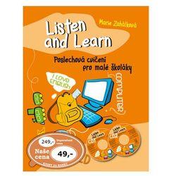 Listen and Learn Poslechová cvičení pro malé školáky + 2 CD Marie Zahálková