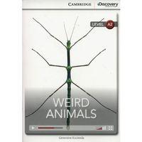Książki do nauki języka, Weird Animals. Cambridge Discovery Education Interactive Readers (z kodem) (opr. miękka)