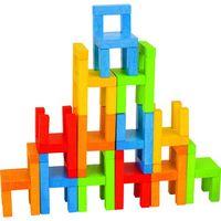 Kreatywne dla dzieci, Balansująca wieża z krzesełek - Goki DARMOWA DOSTAWA KIOSK RUCHU