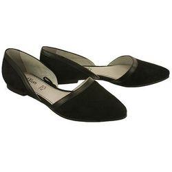 S.OLIVER 5-24214-26 black, czółenka baleriny damskie - Czarny