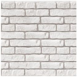 MAX-STONE KAMIEŃ DEKORACYJNY PŁYTKA HARVARD WHITE 27x6,8CM; 20x6,8CM; 13,5x6,8CM OPK.0,44M2