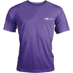 TTK R-NECK CAPSULE PURPLE - koszulka tenisowa R. XXL