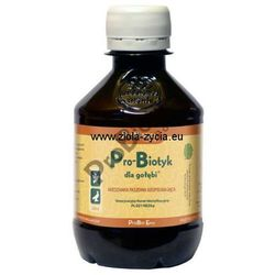 Pro-Biotyk dla gołębi 200 ml - Mieszanka Paszowa Uzupelniająca na bazie żywych kultur matecznych - ProBiotics