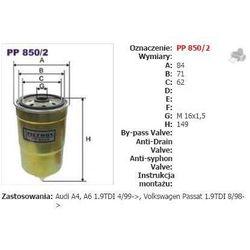PP850/2 FILTR PALIWA FILTRON