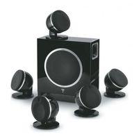 Zestawy głośników, FOCAL DOME 5.1 SUB AIR - ZOBACZ NASZE 5 TYS ZESTAWÓW