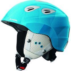 ALPINA GRAP 2.0 JR BLUE WHITE- kask narciarski R. 54-57 cm