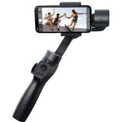 Baseus 3 osiowy Gimbal do telefonu smartfona ręczny stabilizator obrazu do filmów i zdjęć Live Vlog YouTube TikTok szary (SUYT-0G)