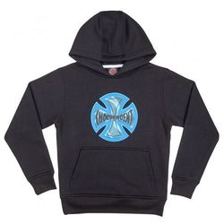 bluza INDEPENDENT - Youth Coil Hood Black (BLACK)
