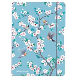 Notes notatnik A5 My.Book Flex PP z gumką HERLITZ - Ladylike Birds