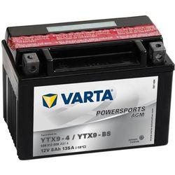 Varta Akumulator motocyklowy Powersports AGM YTX9-4 / YTX9-BS Darmowa wysyłka i zwroty