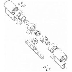 Wkładka modularna Mul-T-Lock dowolny wymiar - Classic