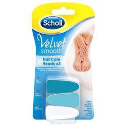 Nasadki SCHOLL do elektrycznego systemu pielęgnacji paznokci Velvet Smooth