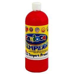 Farba Carioca tempera czerwona ciemna 1000ml (ko03/10)