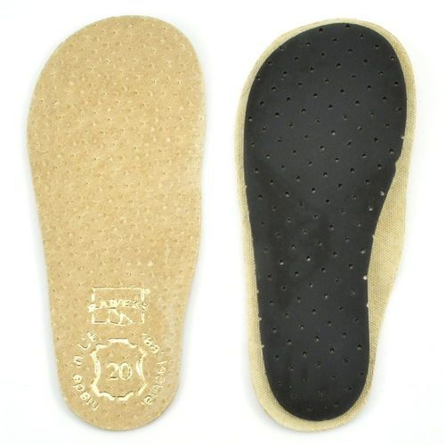 Wkładki do butów, Wkładka skórzana Raweks r.18-26 - Skóra naturalna ||Węgiel aktywny