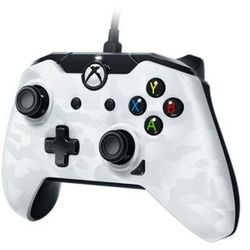 PDP Deluxe Wired Controller - White Camouflage - Gamepad - Microsoft Xbox One S