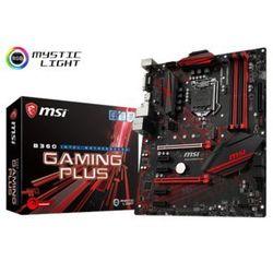 Płyta główna MSI B360 GAMING PLUS ( LGA 1151; 4x DDR4 DIMM; ATX; CrossFire )