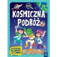 Książki dla dzieci, Kosmiczna podróż. Duże litery (opr. broszurowa)