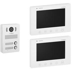 """Stamony Wideodomofon dwurodzinny - 2 x 7"""" - LCD ST-VP-200 - 3 LATA GWARANCJI"""