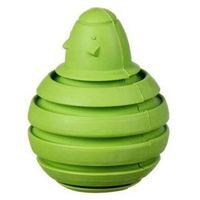 Pozostałe zabawki, Myszka bombka kauczukowa na przysmaki S - green