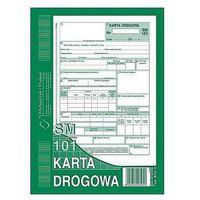 Druki akcydensowe, Karta drogowa A5 80k Michalczyk i Prokop 802-3 (samochód osobowy SM/101)