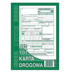 Karta drogowa A5 80k Michalczyk i Prokop 802-3 (samochód osobowy SM/101)