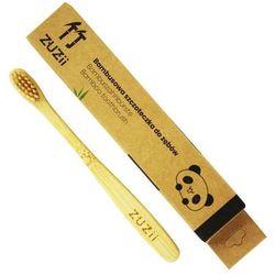 Bambusowa szczoteczka do zębów dla dzieci BEŻOWA