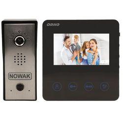 """Zestaw wideodomofonowy, bezsłuchawkowy Orno kolorowy DUX, 4,3"""", ultra płaski, OR-VID-MT-1050"""