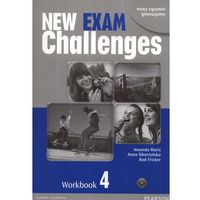 Leksykony techniczne, New Exam Challenges 4 Workbook z płytą CD (opr. miękka)
