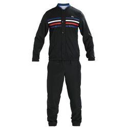 Lacoste Sport TRACKSUIT STRIPES Dres black/marino/white/red/white