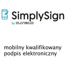 SimplySign - mobilny kwalifikowany podpis elektroniczny - wydanie - 2 lata
