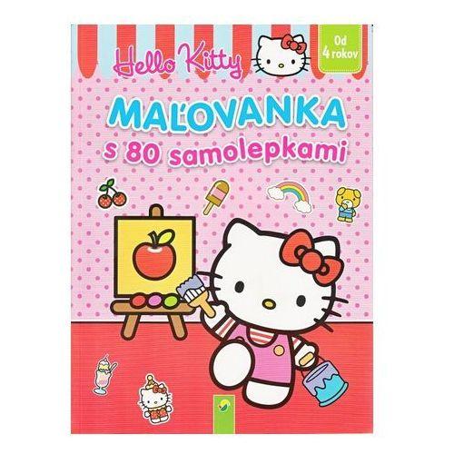 Książki dla dzieci, Maľovanka s 80 samolepkami (Hello Kitty) autor neuvedený
