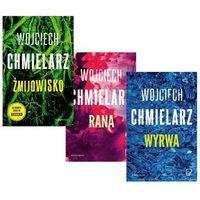Pozostałe książki, PAKIET Chmielarz - Żmijowisko + Rana + Wyrwa