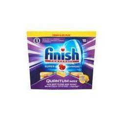 Kapsułki do mycia naczyń w zmywarkach Finish Quantum Max Lemon 182g (10 sztuk)