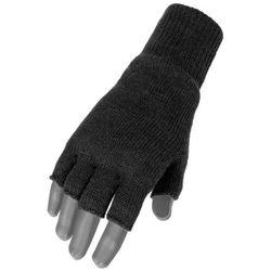 Mil-Tec Rękawice bez Palców Thinsulate Czarne - Czarny