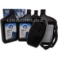 Oleje silnikowe, Olej MOPAR ATF+4 oraz filtr automatycznej skrzyni biegów NAG1 Jeep Grand Cherokee 2,7CRD