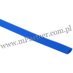 Rura termokurczliwa elastyczna V20-HFT 6/3 niebieska