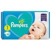 Pieluchy jednorazowe, Pampers Rozmiar 1, 43 pieluszki, 2-5 kg