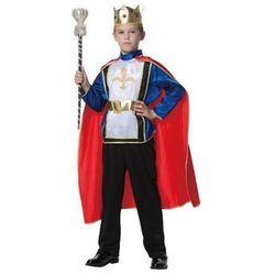 Kostium Król Deluxe dla chłopca - M - 116 cm